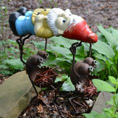 Just for fun...found in a garden I recently visited filled with amazing art!