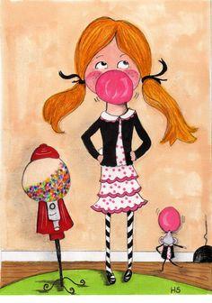The Gumball Machine by Heather Stillufsen