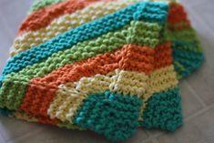 dish towel knitting pattern knit kitchen
