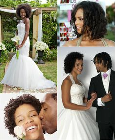chic voluminous curly wedding hairstyle for black women by clip in short black curly hair extension