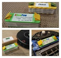 #WIN a Lithium Replacement Battery for Roomba vacuums from @5minutesformom