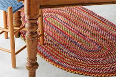 Cooks' Favorites: Braided Rug. The colonists made them by hand. Capel has famously been weaving theirs since 1918. @rugsdirect | Photo: Yunhee Kim larg rug
