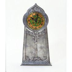 liberti, knox c1905, art crafts, time, craftsart nouveau, archibald knox, museum, clocks, craft clock
