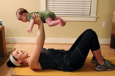 5 Exercises You Can Do (At Home!) With Your Baby