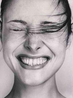 happy faces, peopl, natalie portman, natali portman, portraits, laughter, happy portrait, natalie wood, natural beauty