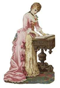 edwardian era, digit scrap, vintag, victorian ephemera, victorian scrap, regency era, desks, victorian ladies, victorian era