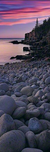 Atlantic Shores  Acadia NP, Maine - Peter Lik