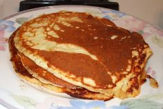 Lowcarbdude.com: Recipe: Low-carb almond pancakes