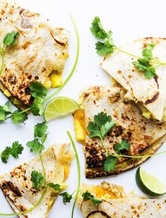 tequila lime chicken quesadillas