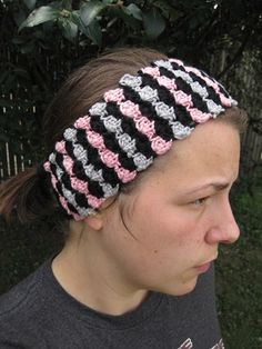Crochet Spot » Blog Archive » Crochet Pattern: Baby Shells Ear-warmer Headband - Crochet Patterns, Tutorials and News