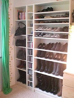 schuhaufbewahrung on pinterest shoe cabinet crates and shoes organizer. Black Bedroom Furniture Sets. Home Design Ideas