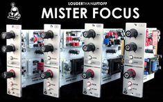 Review on the blog : Mister Focus & les Colour Modules par LouderThanLiftoff – MXV
