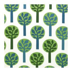 Ikea tree fabric - so cute! And only £3.99/metre
