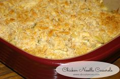 Sunday's Best: Chicken Noodle Casserole