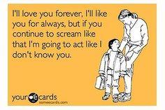 funni stuff, funny parenting ecards, mommi stuff, parent ecards, kid