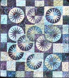 Desert Sky ~ Quiltworx.com, by Certified Instructor, Roger Kerr