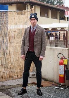 Matteo Marucci Wimiry pitti85 #style #trendy