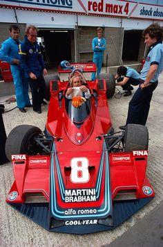Hans Joachim Stuck - Brabham Alfa Romeo - Silverstone 1977