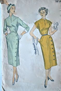 Advance 6070 vintage sewing pattern