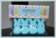 9. Peeps Treat Tags    Giving away peeps as treats? Make your Easter gift more appealing via the perfect packaging. Download this adorable tag now.Download