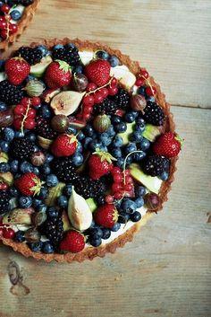Mascarpone Cream Tart with Fresh #Fresh Fruit  http://freshfruitrecipe900.lemoncoin.org