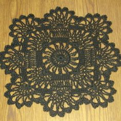 Sunflower Doily Pattern