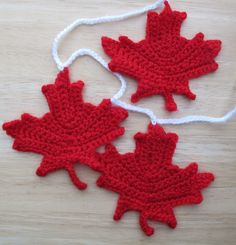 Free Knitting Pattern Canadian Maple Leaf : Canada Day on Pinterest 29 Pins