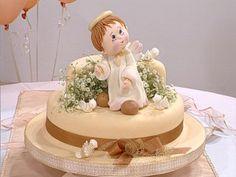 Pasteles Decorados | El ángel de comunión | Utilisima.com