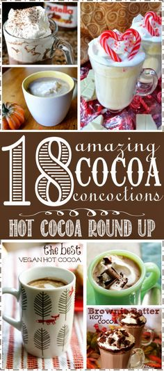 Sugar Blossoms: 18 Amazing Hot Cocoa Recipes