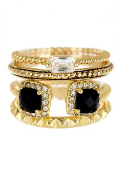 stacked ring love.