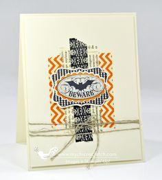 Washi Tape Halloween Card ~ Angie Juda