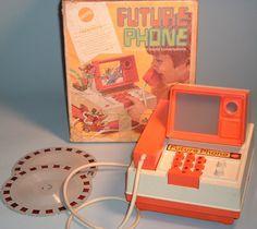 MATTEL: 1970 Future Phone #Vintage #Toys