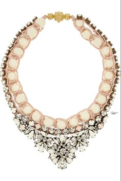 Shourouk ● Swarovski Crystal Necklace Beautiful summer look