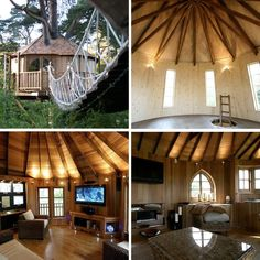 I want a treehouse! Check these out!