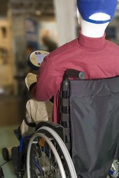Ab exercises for wheelchair users
