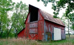 Old Barn in Brownsville, Minnesota
