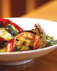 Nahm seafood curry