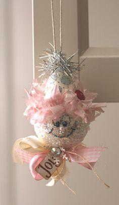 DIY:: Snowman Ornament