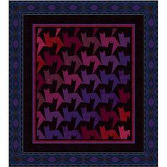 """""""Tessellating Tabbies"""" pattern by Jinny Beyer"""