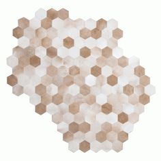 """new photo of """"hexes"""", part of the shapes collection by maison21 for 27 ground, available at woven accents. www.wovenonline.com"""