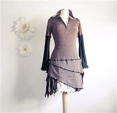 @:Bing : upcycled clothes - May have to make one....