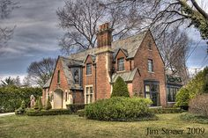 English Tudor Style Home