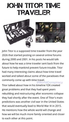 titor s time machine