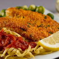 Almond and Parmesan Baked Tilapia