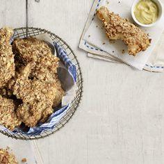 """Pretzel-Crusted """"Fried"""" Chicken"""
