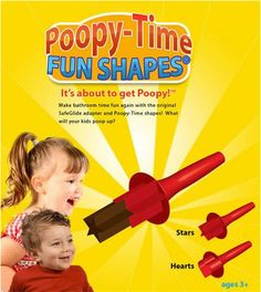 I have no words...WTF???? NO Thank You. The last thing I need is for my kid to Play with her poop!!!---WTF????