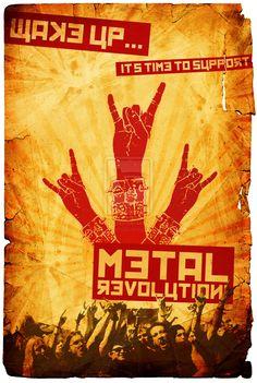 Metal Revolution by nightm4re86