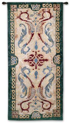 Celtic design tapestry