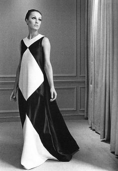 Dress by Halston, 1960s
