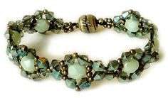 DIY: Linda's Jeweled Bracelet